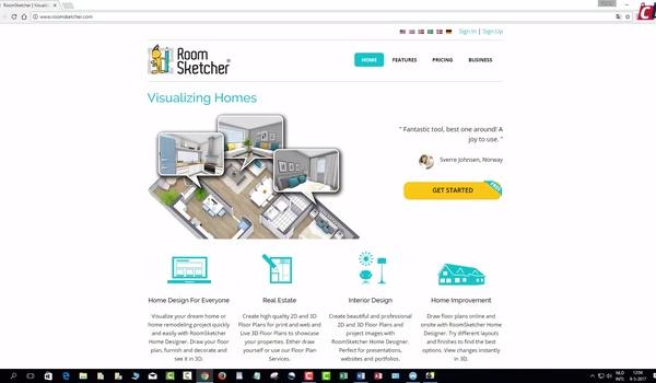 RoomSketcher: plattegrond maken