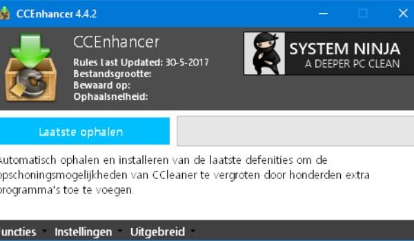 CCEnhancer - Laat CCLeaner nog beter werken