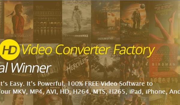 Gratis video's converteren met HD Video Converter Factory (1)