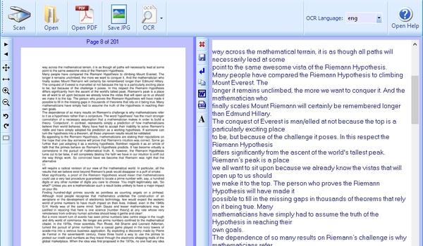 FreeOCR - Maak van gescande documenten bewerkbare tekst