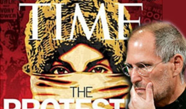 Time Person of the Year-titel weer niet voor Jobs