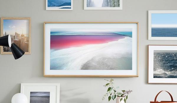 Schilderij-tv Samsung eind mei te koop