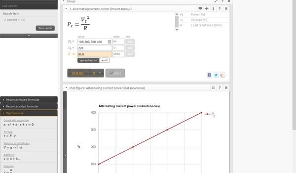 FXSolver - Vind en reken met formules op elk gebied