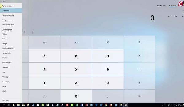 Windows Rekenmachine
