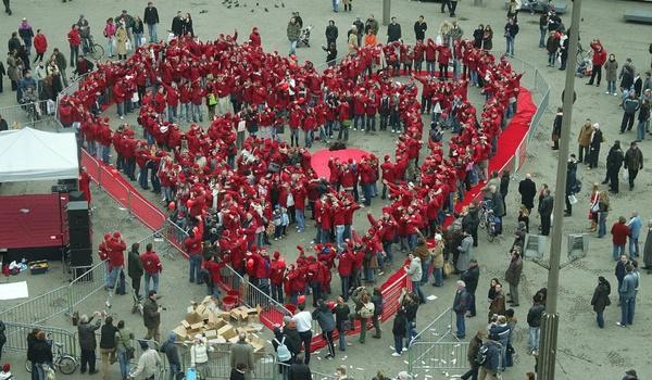 Record 'samen mp3-luisteren' op Valentijnsdag gehaald