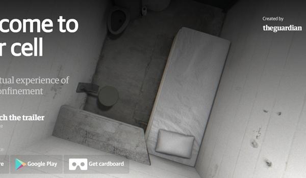 Virtual reality-app 6x9 plaatst je in isoleercel