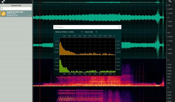 Ocenaudio - Een snelle en uitgebreide audio-editor