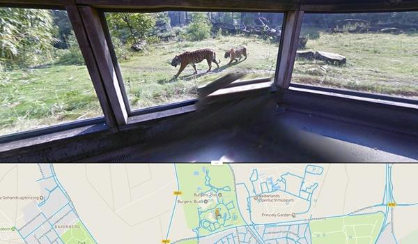 Bezoek nieuwe Nederlandse locaties van binnen in Street View