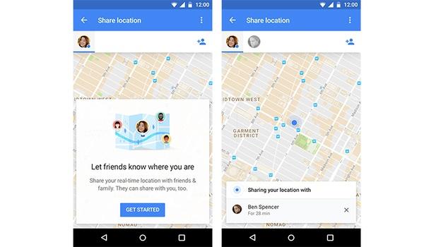 Deel je locatie in realtime met Google Maps