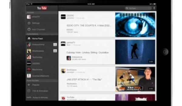 YouTube-app voor iPad en iPhone 5 te downloaden
