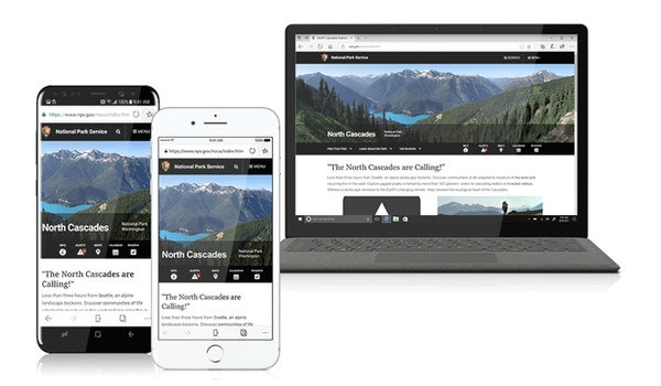 Microsoft Edge voor Android en iOS onthuld
