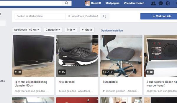 Spullen verkopen op Facebook doe je zo