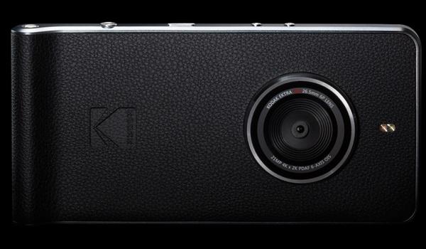 Kodak Ektra-smartphone draait om fotografie