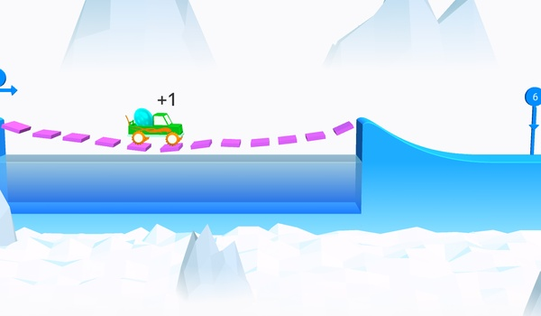 Risky Road (iOS/Android) - Hou je ei intact in dit verslavende spelletje
