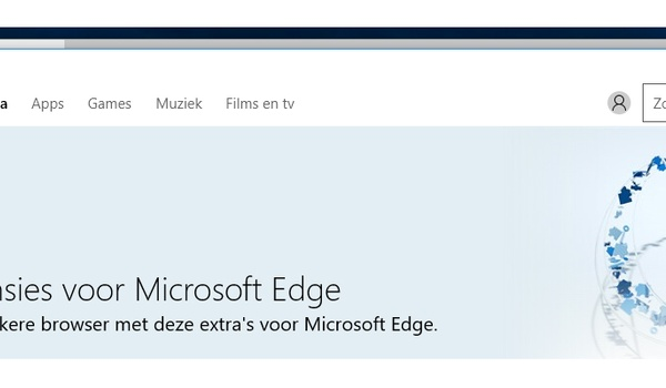 Extensies voor Edge downloaden en installeren