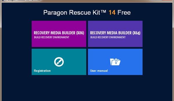 Paragon Rescue Kit - Maak een back-up-image van je pc