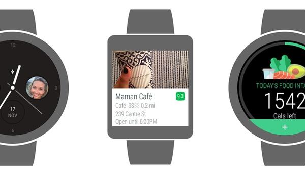 Glide, Foursquare en Lifesum straks los op Android-smartwatch