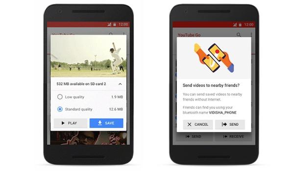 YouTube Go biedt video's ook offline aan