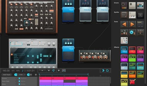 Muziek mixen met Audiotool (2)