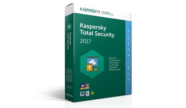 Win het Total Security 2017-antiviruspakket van Kaspersky