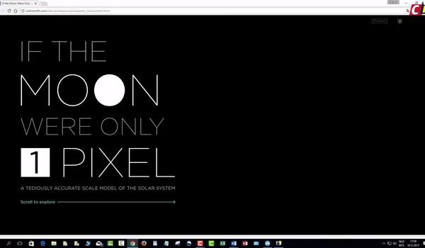 Het heelal verkennen met Pixelspace