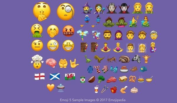 56 nieuwe emoji gepresenteerd