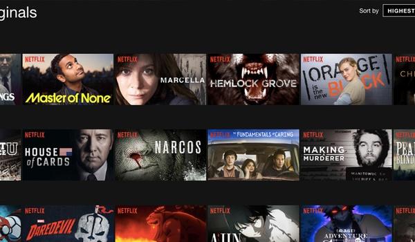 'Netflix Originals meer in trek dan rest van aanbod'