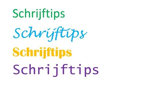 Schrijftips voor websites en blogs