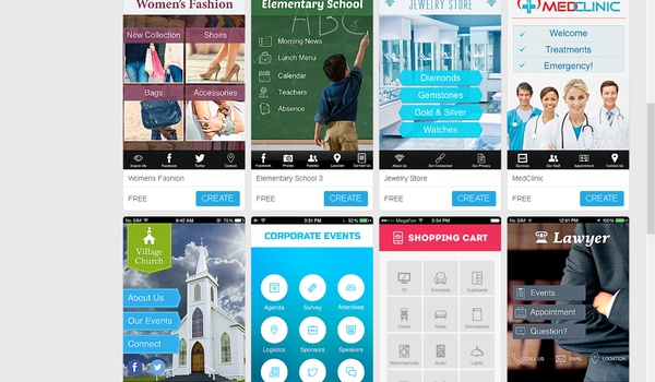 iBuildApp - Bouw je eigen app