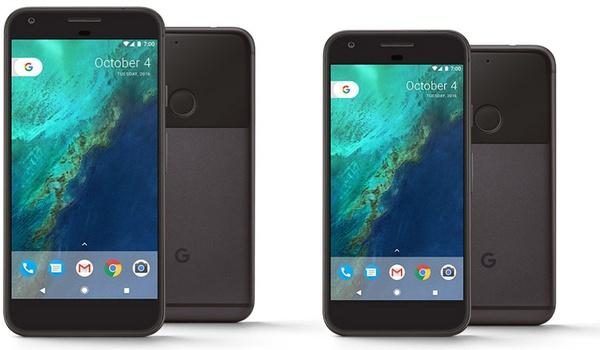 Pixel-telefoon van Google erg in trek