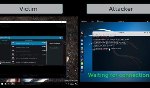 Gebruikers Popcorn Time, VLC en Kodi via ondertitels te hacken