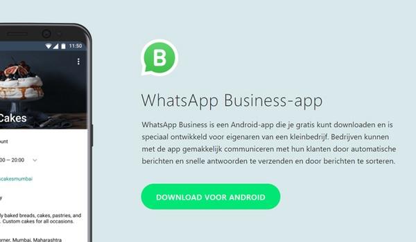 Uitrol WhatsApp voor bedrijven van start