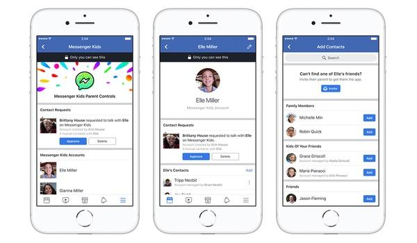 Facebook begint met testen Messenger Kids