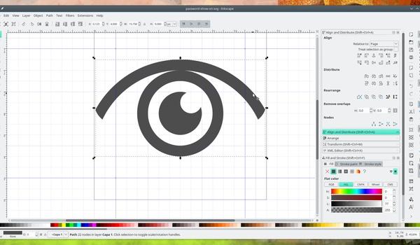 Logo maken met Inkscape (2)