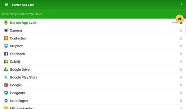 Norton App Lock - Extra beveiliging voor Android-apps