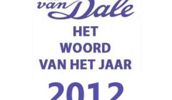 Van Dale Woord van het jaar 2012