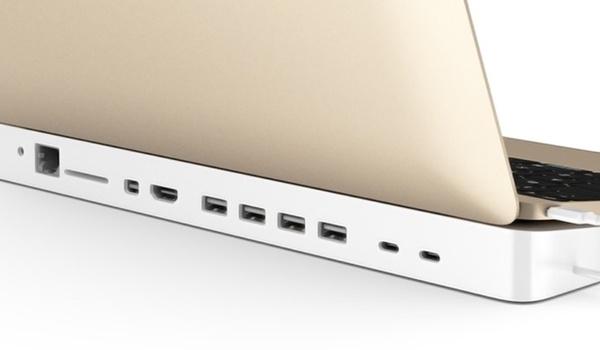 Hydradock geeft nieuwe Macbook weer veel poorten
