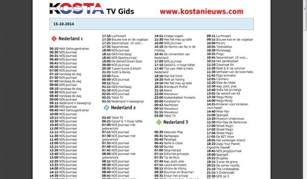 KostaNieuws - Maak uw eigen omroepblad