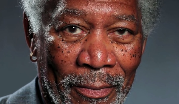 Deze foto van Morgan Freeman is helemaal geen foto