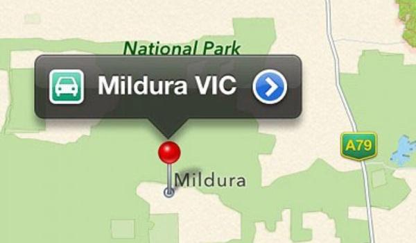 Apple Maps stuurt Australiërs woestijn in