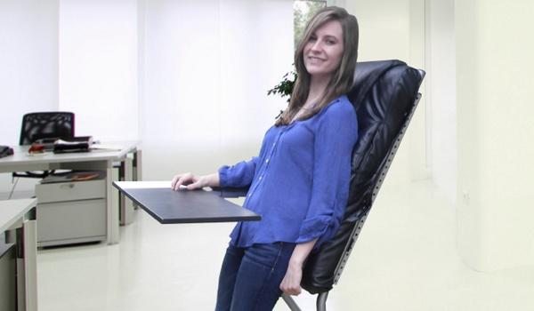 Leanchair is een leunstoel voor op kantoor