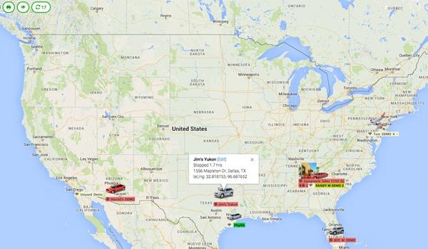 Gevoelige informatie auto-trackers online gelekt