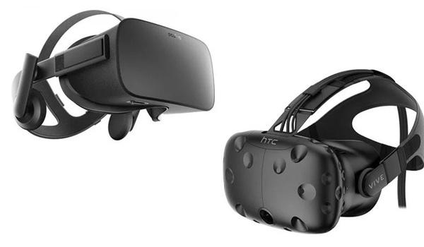 VR-brillen Rift en Vive zakken flink in prijs