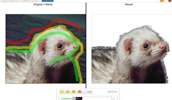 Clippingmagic - Knip online onderwerpen uit uw foto's