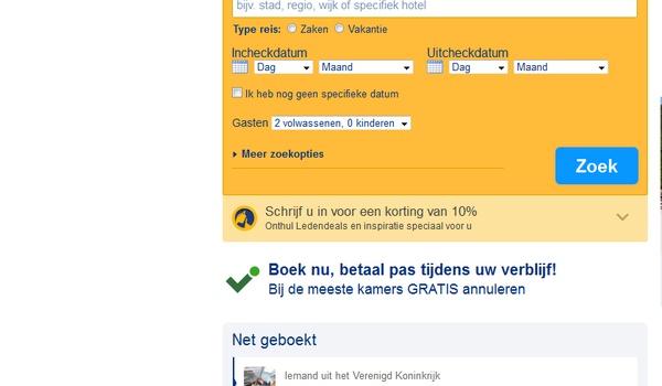 Duizenden klanten Booking.com doelwit van phishing