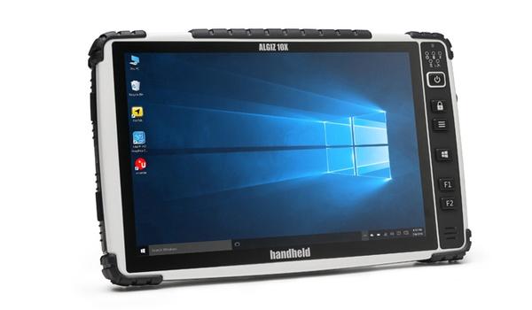 Algiz 10X van Handheld is stevige Windows 10-tablet
