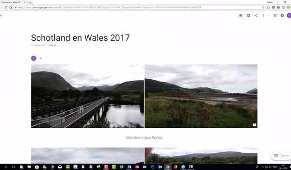 Google Foto's: albums maken en delen