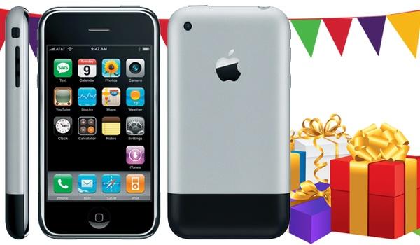 Hoera, de iPhone bestaat 10 jaar!