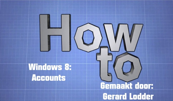 How to: Accounts beheren in Windows 8