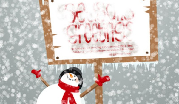 Let it snow by Microsoft